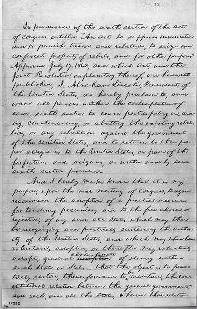 Draft Emancipation Proclamation, July 22,1862, Library of Congress